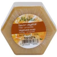 pflanzliche Seife mit Honig