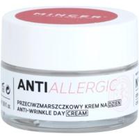Anti-Faltencreme für empfindliche und gerötete Haut