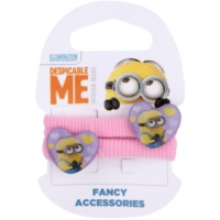 Minions Accessories Dave Hair Elastics In Heart Shape