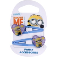 Minions Accessories Dave Hair Pins In Heart Shape