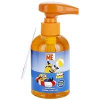 tekuté mydlo s hracou pumpičkou