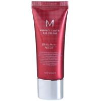 Missha M Perfect Cover BB krém nagyon magas UV védelemmel kis csomagolás
