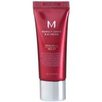 Missha M Perfect Cover BB creme com fator UV muito elevado embalagem pequena