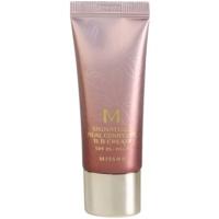 Missha M Signature Real Complete tónusegyesítő BB krém a bőr tökéletlenségeire mini
