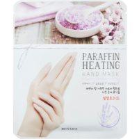 Missha Paraffin Heating paraffines maszk a kezekre melegítő hatással
