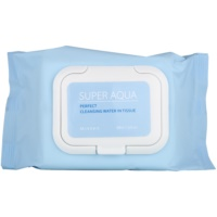 toalhetes de limpeza facial com efeito hidratante
