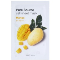 Missha Pure Source Cloth Facial Mask With Moisturizing Effect