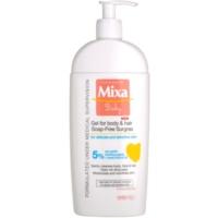 MIXA Baby tusfürdő gél és sampon 2 in 1 gyermekeknek