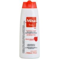 sanfte Creme für Kinder zum Duschen und Baden