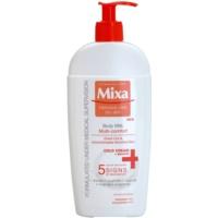 loção corporal refrescante para pele sensível