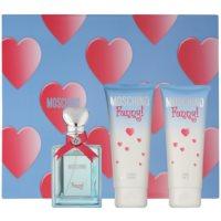 Moschino Funny! darčeková sada VI. toaletná voda 50 ml + sprchový gel 100 ml + telové mlieko 100 ml