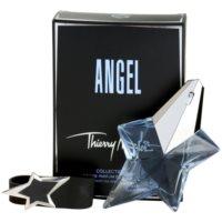 Mugler Angel Collection Cuir darilni set XXIV. parfumska voda 25 ml + zapestnica