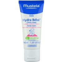 Mustela Bébé Hydra Bébé krem nawilżający do twarzy dla dzieci od urodzenia