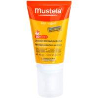 Mustela Solaires crema protectoare pentru fata SPF 50+