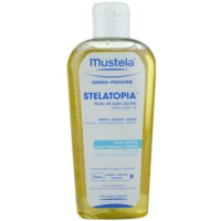 Mustela Dermo-Pédiatrie Stelatopia Bath Oil For Very Dry Sensitive And Atopic Skin