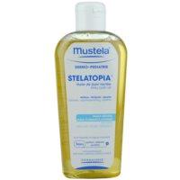 Mustela Dermo-Pédiatrie Stelatopia Badolie voor Zeer Droge Gevoelige en Atopische Huid