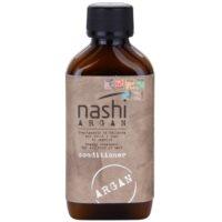 acondicionador hidratante para cabello con aceite de argán y lino  para todo tipo de cabello