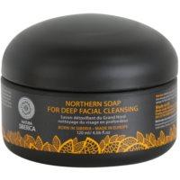 Detox-Seife für das Gesicht für die Tiefenreinigung