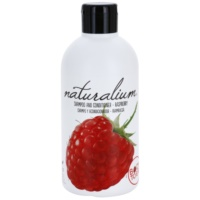 Naturalium Fruit Pleasure Raspberry šampón a kondicionér