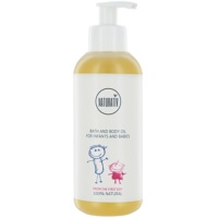 aceite corporal para baño para bebé lactante