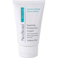 crema de día antienvejecimiento protectora SPF 23