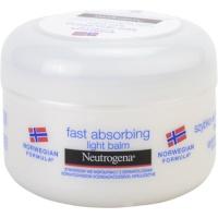bálsamo corporal de absorção rápida para a pele normal