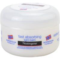balzam za telo, ki se hitro absorbira za normalno kožo