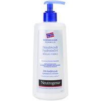 leche corporal hidratación profunda para pieles secas y sensibles