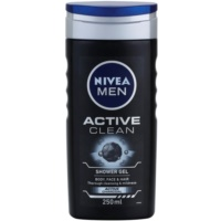 Nivea Men Active Clean gel de ducha para hombre