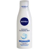 освіжаюче очищаюче молочко для нормальної та змішаної шкіри