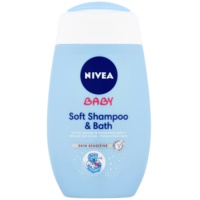 Nivea Baby Shampoo And Foam Into The Bath 2 In 1
