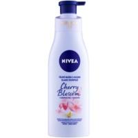 Nivea Cherry Blossom & Jojoba Oil telové mlieko s olejom