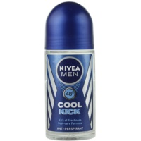Nivea Men Cool Kick roll-on antibacteriano para homens