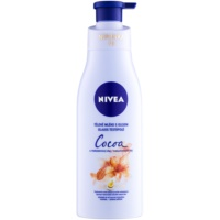 Nivea Cocoa & Macadamia Oil testápoló tej olajjal