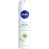 Nivea Pure & Natural Deodorant Spray 48 Std.