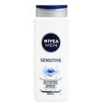 Nivea Men Sensitive tusfürdő gél arcra, testre és hajra