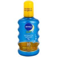Nivea Sun Protect & Refresh spray abbronzante invisibile SPF 10