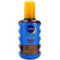 Nivea Sun Protect & Bronze aceite seco solar SPF 20