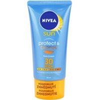 Nivea Sun Protect & Bronze intenzívny pleťový krém na opaľovanie SPF 30