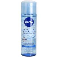 Nivea Visage Aqua Sensation tisztító gél normál és kombinált bőrre