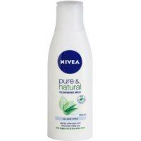 leite facial de limpeza