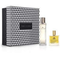 Notino Prawo przyciągania intrygujący zapach dla współczesnej kobiety + naturalny suchy olejek do włosów i ciała