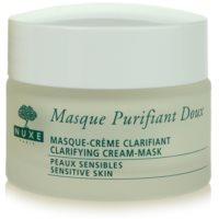 máscara de limpeza para pele sensível