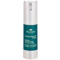 Nuxe Nuxuriance Ultra подмладяващ крем за околоочен и устен контур. против бръчки, отоци и черни кръгове