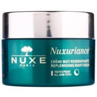 creme rejuvenescedor nutritivo de noite para todos os tipos de pele