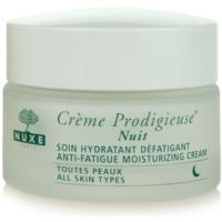 Nuxe Creme Prodigieuse creme hidratante de noite para todos os tipos de pele