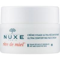 Nuxe Reve de Miel nawilżająco - odżywczy krem na dzień do skóry suchej