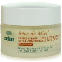 Nuxe Reve de Miel nawilżająco - odżywczy krem na noc do skóry suchej