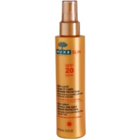 napozó spray SPF 20