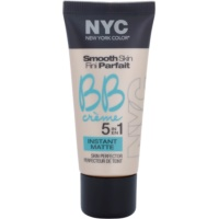 NYC Smooth Skin Instant Matte matirajoča BB krema
